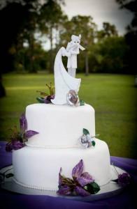 Brandon's wedding cake
